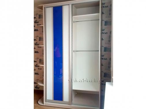 Корпусный шкаф-купе с плёнкой Оракал