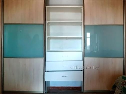Модель с комбинированными дверями