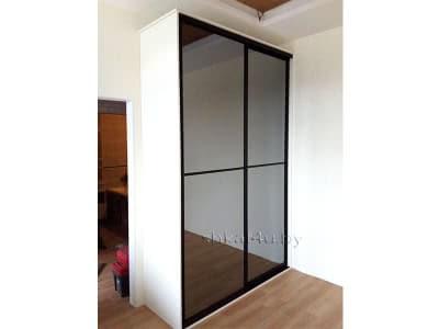 Шкаф-купе с зеркальными дверями